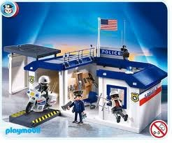f1006 politiebureaukoffer playmobil speelotheek bij tante leen. Black Bedroom Furniture Sets. Home Design Ideas