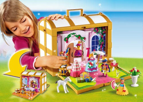 f852 prinsessenkoffer playmobil speelotheek bij tante leen. Black Bedroom Furniture Sets. Home Design Ideas